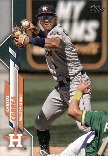 Photo of 2020 Topps #349 Carlos Correa