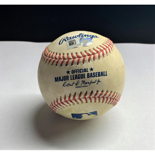 Victor Reyes 2020 Opening Day Single Baseball (MLB AUTHENTICATED)