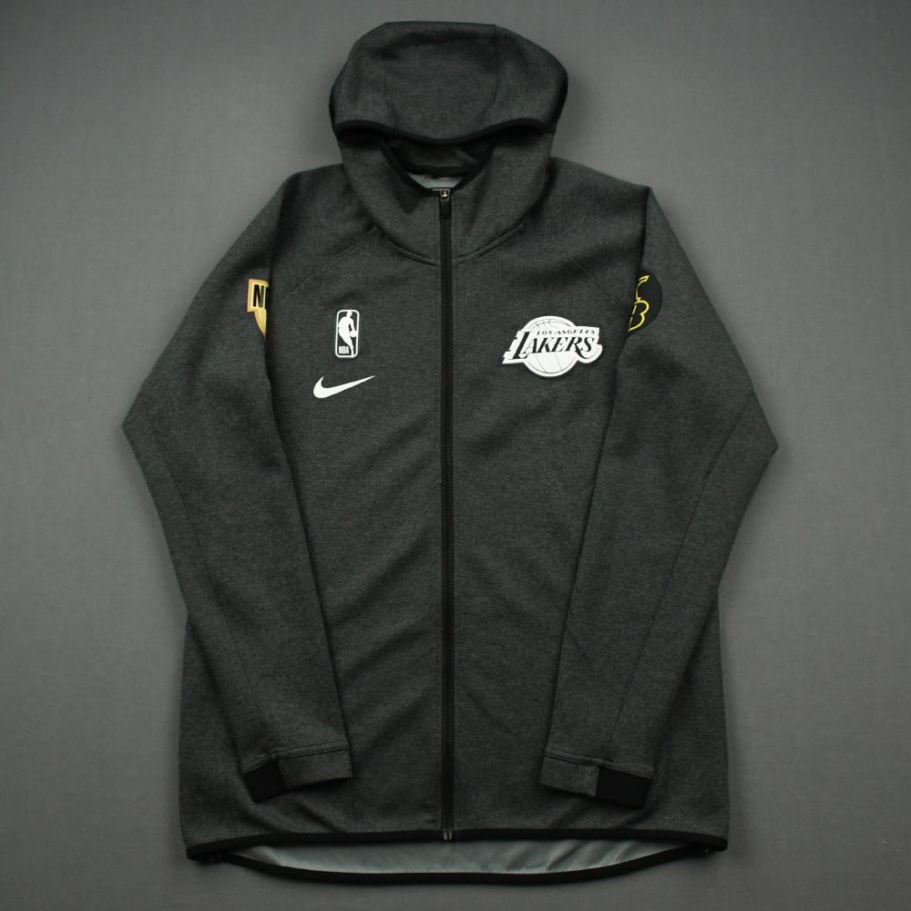 Kentavious Caldwell-Pope - Los Angeles Lakers - 2020 NBA Finals Game 5 - Game-Worn Hooded Warmup Jacket