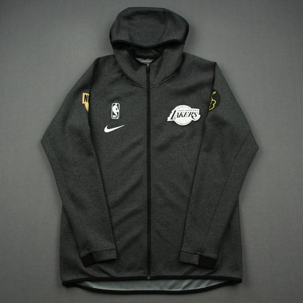 Image of Kentavious Caldwell-Pope - Los Angeles Lakers - 2020 NBA Finals Game 5 - Game-Worn Hooded Warmup Jacket