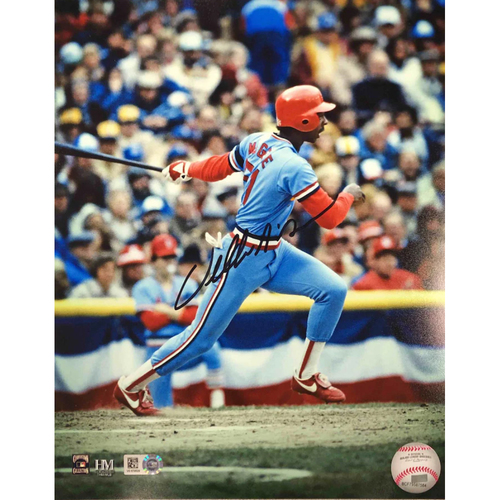 Photo of Cardinals Authentics: Willie McGee Autographed Photo