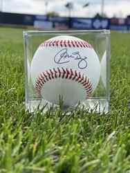 Photo of Carlos Baerga Signed Baseball