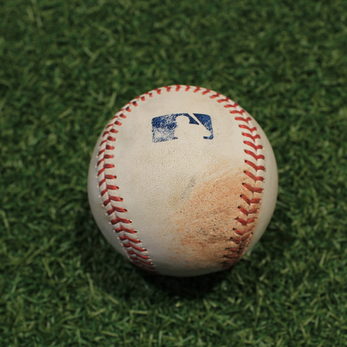 Photo of Game-Used Baseball: Eugenio Suarez 139th Career Double (CIN@KC 7/7/21)