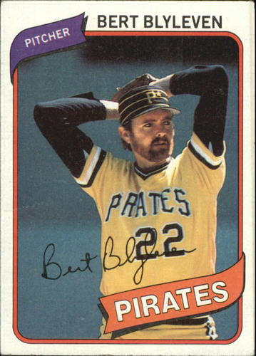 Photo of 1980 Topps #457 Bert Blyleven