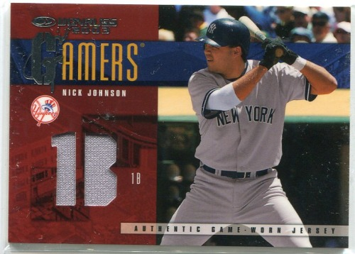 Photo of 2003 Donruss Gamers Position #30 Nick Johnson