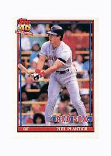 Photo of 1991 Topps Micro #474 Phil Plantier RC