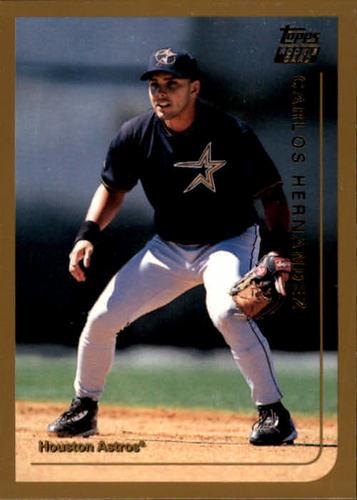 Photo of 1999 Topps Traded #T4 Carlos Eduardo Hernandez RC