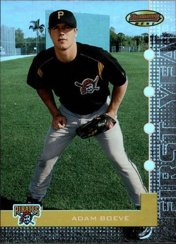 Photo of 2005 Bowman's Best #55 Adam Boeve FY RC