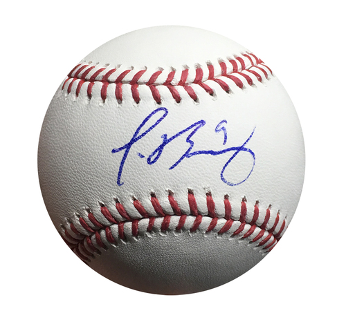 Photo of Javier Baez Autographed World Series Baseball