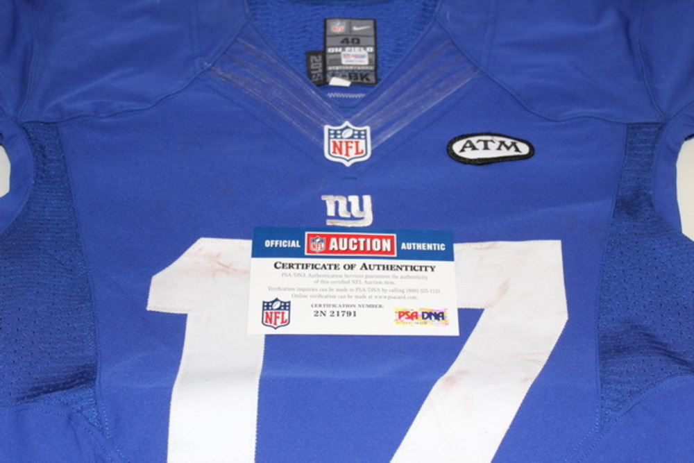 NFL Auction | STS - GIANTS DWAYNE HARRIS GAME WORN GIANTS JERSEY ...