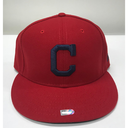 Photo of Carlos Carrasco Team-Issued 2017 Alternate Home Cap