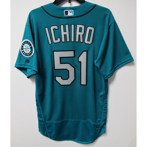 Photo of Seattle Mariners Ichiro Suzuki Team Issued Jersey