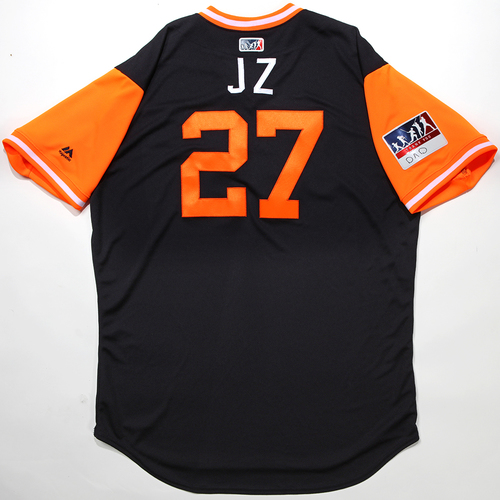 "Photo of Jordan ""JZ"" Zimmerman Detroit Tigers Team-Issued 2018 Players' Weekend Jersey"