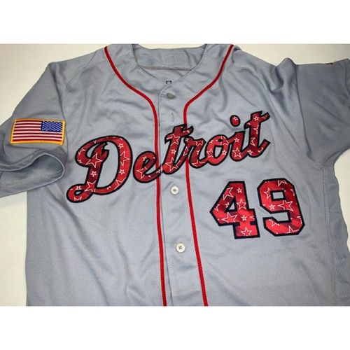 Photo of Game-Used Stars and Stripes Jersey: Dixon Machado