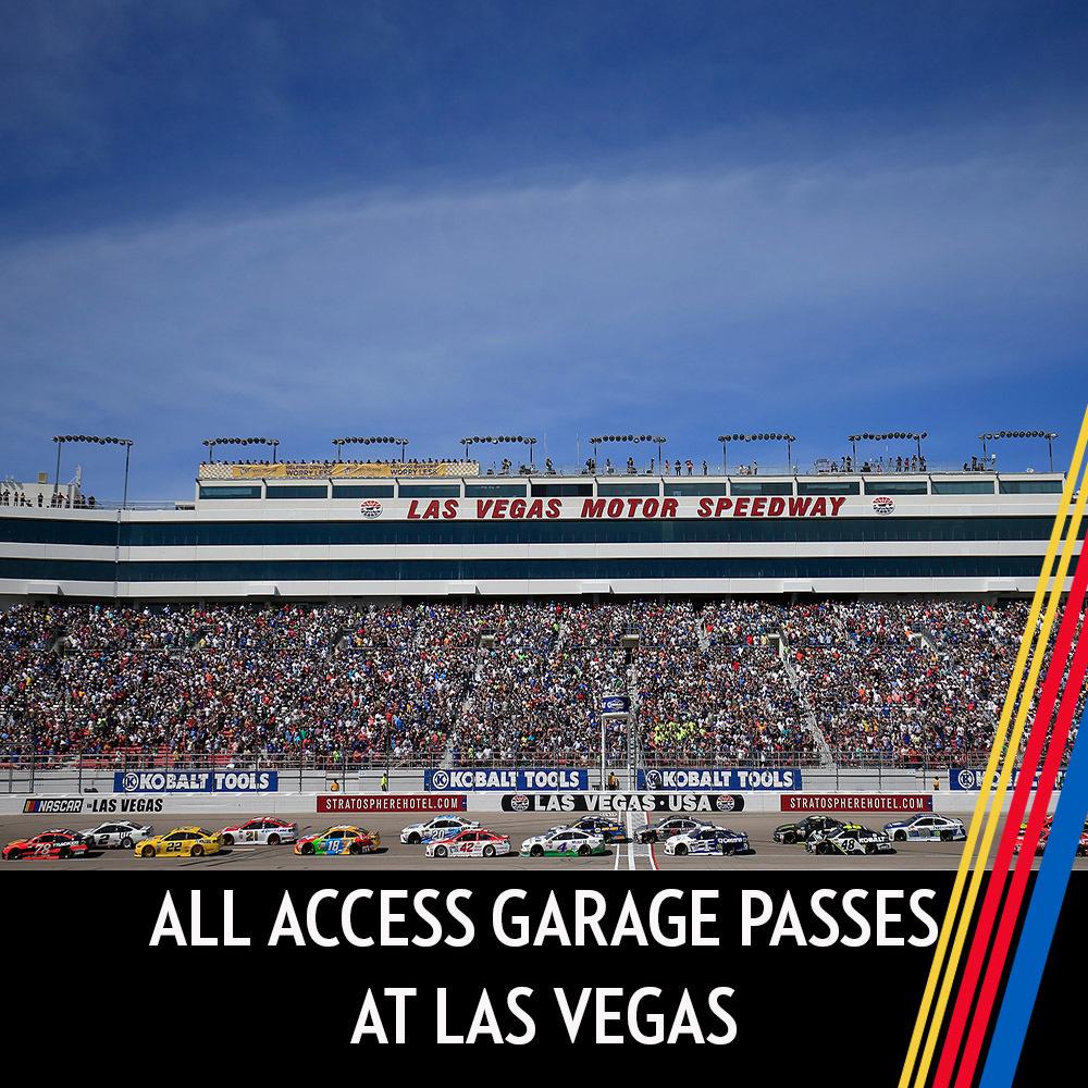 All Access Garage Passes at Las Vegas!