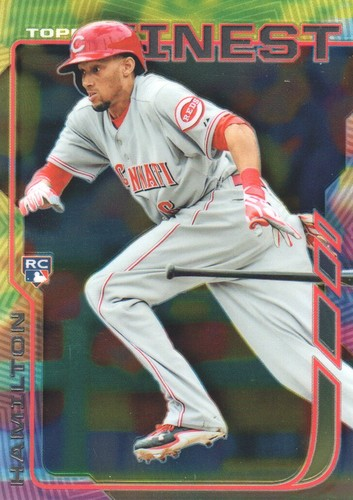 Photo of 2014 Finest #21 Billy Hamilton RC