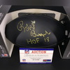 HOF - Oilers Robert Brazile Signed Commemorative Black Hall of Fame Football