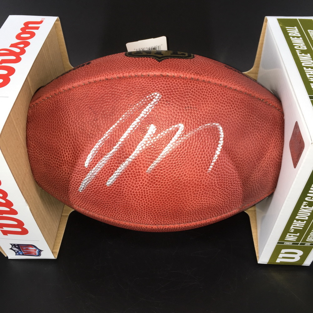 NFL - Jets Jamal Adams Signed Authentic Football