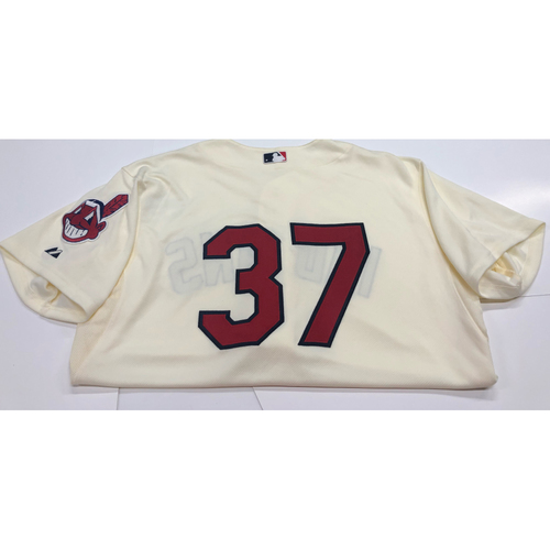Photo of Cody Allen Team Issued 2013 Alternate Home Jersey