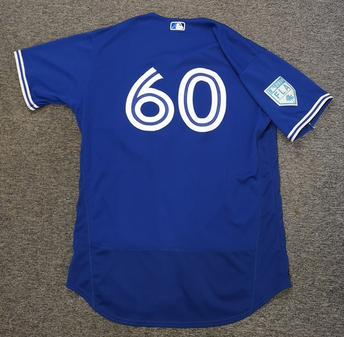 Photo of Authenticated Team Issued 2019 Spring Training Jersey - #60 Ryan Feierabend. Size 50