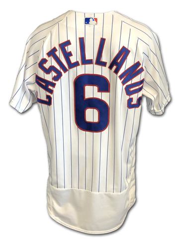 Photo of Nick Castellanos Game-Used Jersey -- 2-3, 23rd HR, 4 RBIs -- 9/3/19 -- Mariners vs. Cubs