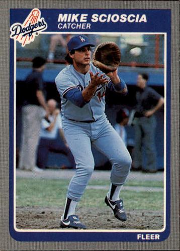 Photo of 1985 Fleer #385 Mike Scioscia