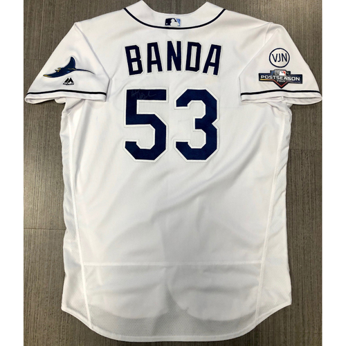 Photo of Team Issued Autographed Jersey: Anthony Banda