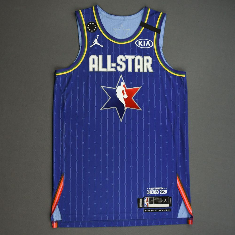 RussellWestbrook - 2020 NBA All-Star - Team LeBron - Autographed Jersey