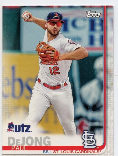 Photo of 2019 Topps Utz #40 Paul DeJong