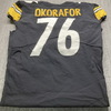 STS - Steelers Chukwuma Okafur Game Used Jersey (11/15/20) Size 48