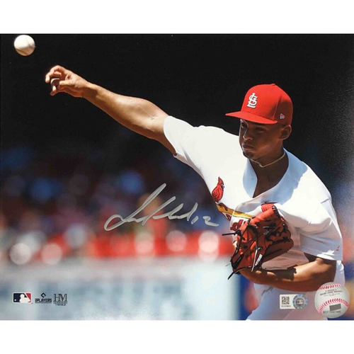 Photo of Cardinals Authentics: Jordan Hicks Autographed Photo