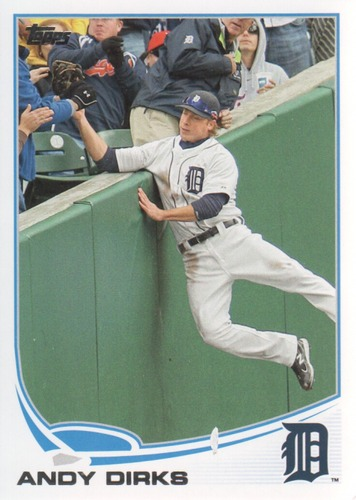 Photo of 2013 Topps #630 Andy Dirks