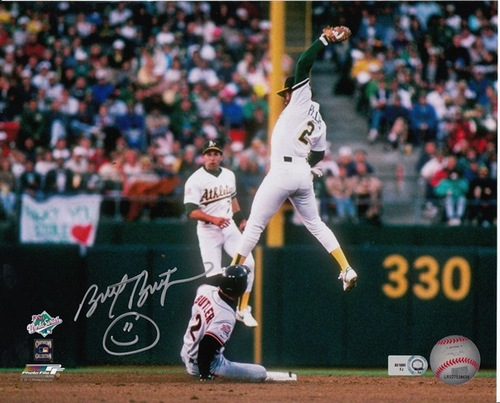 Photo of Brett Butler Autographed 8x10