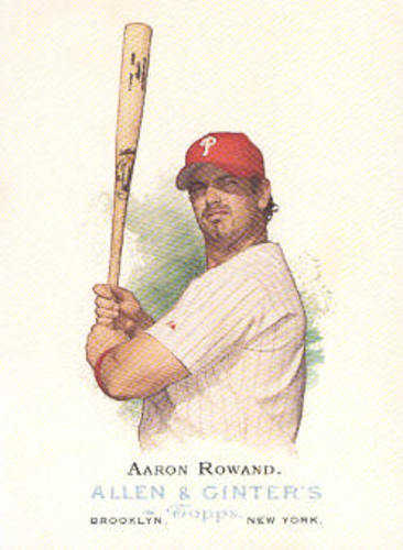 Photo of 2006 Topps Allen and Ginter #129 Aaron Rowand