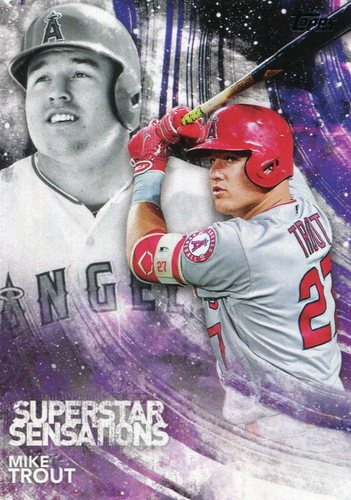 Photo of 2018 Topps Superstar Sensations #SSS1 Mike Trout