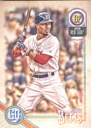 Photo of 2018 Topps Gypsy Queen #180 Mookie Betts