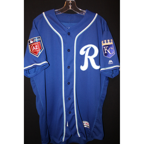 Photo of Game-Used Spring Training Jersey: Frank Schwindel (Size 46)