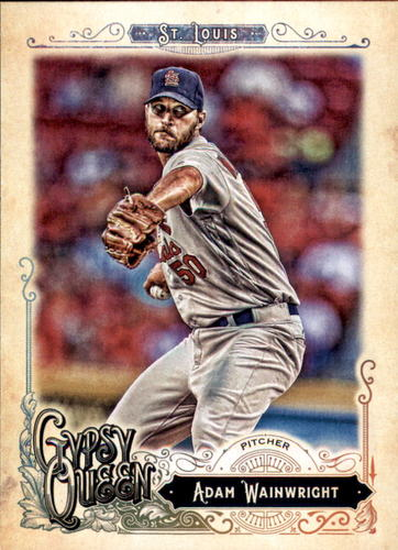 Photo of 2017 Topps Gypsy Queen #98 Adam Wainwright
