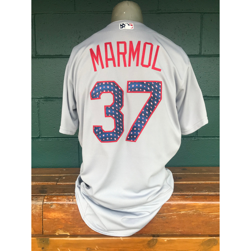 Photo of Cardinals Authentics: Team Issued Oliver Marmol 4th of July Jersey