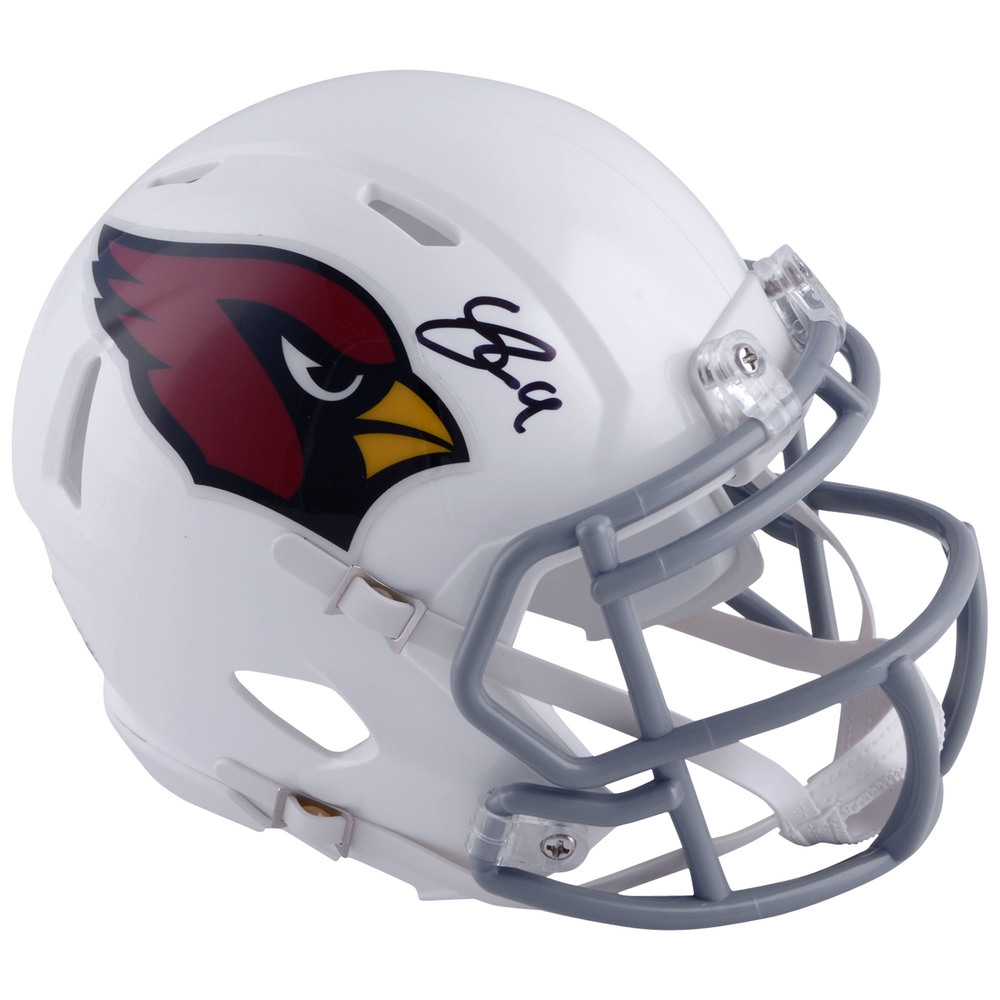 Clayton Keller Arizona Coyotes Autographed Arizona Cardinals Mini Helmet