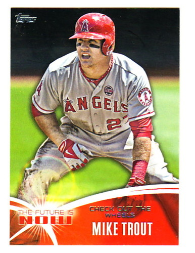 Photo of 2014 Topps The Future is Now #FN20 Mike Trout
