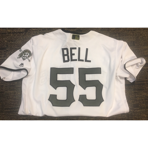 Photo of Game Worn Josh Bell Jersey - Size 48