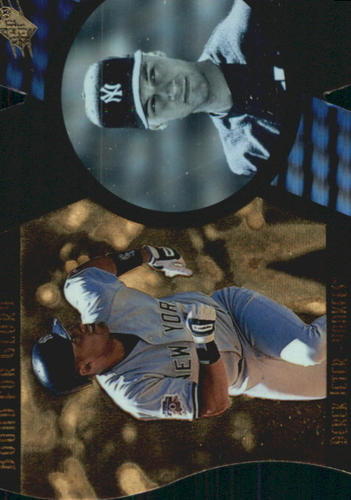 Photo of 1997 SPx Bound for Glory #13 Derek Jeter