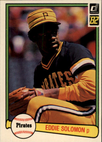 Photo of 1982 Donruss #437 Eddie Solomon