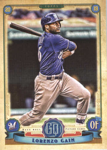 Photo of 2019 Topps Gypsy Queen #136 Lorenzo Cain