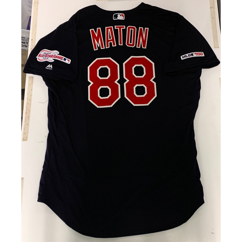 Photo of Phil Maton Team Issued 2019 Alternate Road Jersey