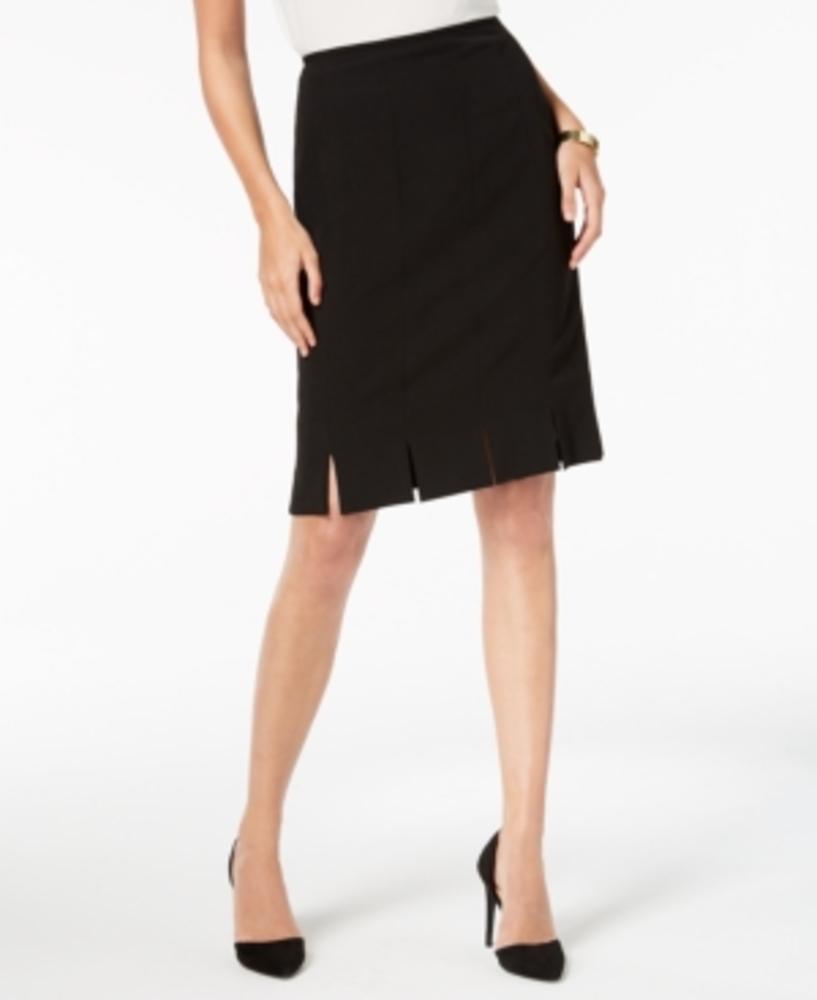 Photo of Kasper Pleated Pencil Skirt