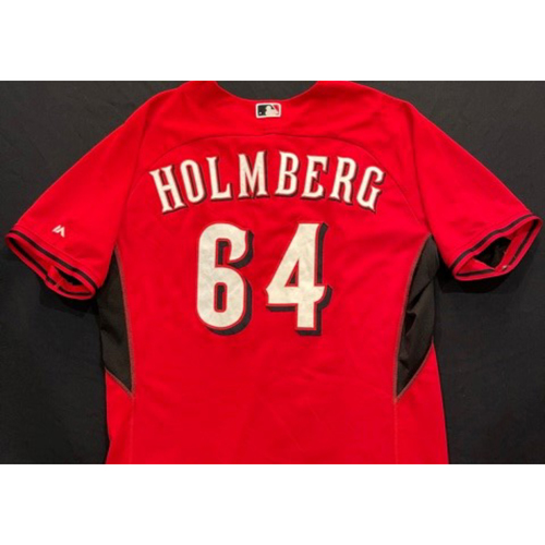 Photo of HOLMBERG -- Authentic Reds Jersey -- $1 Jersey Auction -- $5 Shipping -- Size 50 (Not MLB Authenticated)