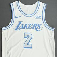 Quinn Cook - Los Angeles Lakers - Christmas Day' 20 - Game-Worn City Edition Jersey