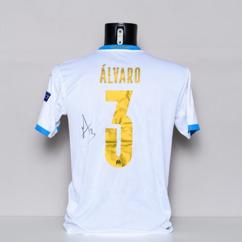 Photo of 20/21 Olympique de Marseille Jersey - signed by Alvaro Gonzalez